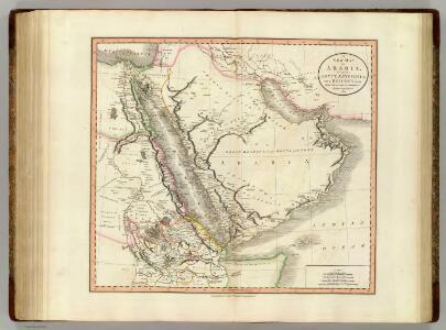 Arabia, Egypt, Abyssinia, Red Sea.