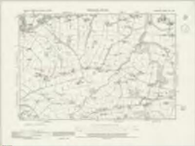 Cheshire XVII.SW - OS Six-Inch Map