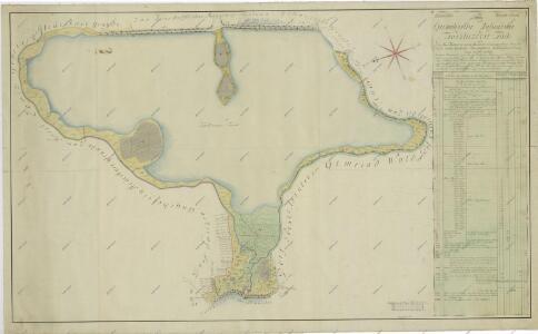 Geometrický plán rybníka Koclířov s přilehlými činžovními pozemky