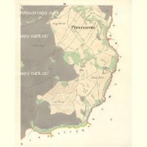 Prussinowitz (Rassosow) - m2558-1-003 - Kaiserpflichtexemplar der Landkarten des stabilen Katasters
