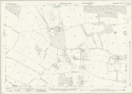 Hertfordshire XLIII.4 (includes: Chorleywood; Rickmansworth Urban; Sarratt; Watford Rural) - 25 Inch Map