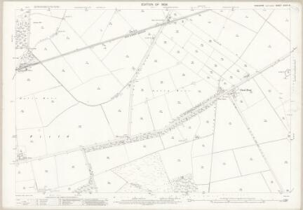Yorkshire CCVIII.8 (includes: Everingham; Holme Upon Spalding Moor; Market Weighton; Shipton Thorpe) - 25 Inch Map