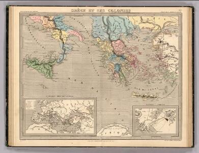 Grece et ses Colonies.