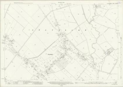 Oxfordshire XXXVIII.6 (includes: Northmoor; Standlake; Stanton Harcourt) - 25 Inch Map