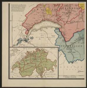 Schulwandkarte zur Geschichte der Schweiz