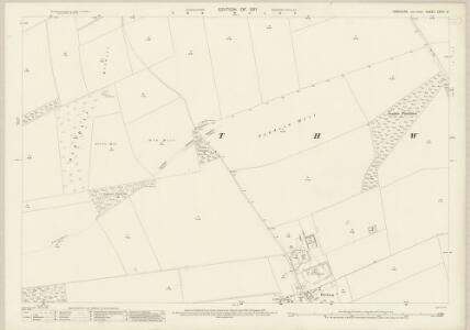 Yorkshire CXXVI.12 (includes: Thwing) - 25 Inch Map