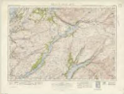 Oban  & Loch Awe (61) - OS One-Inch map