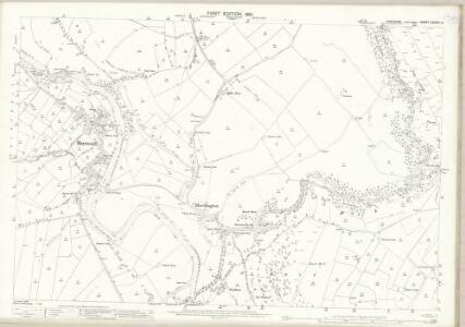 Yorkshire CXXXIV.15 (includes: Appletreewick; Burnsall; Hartlington; Hebden) - 25 Inch Map