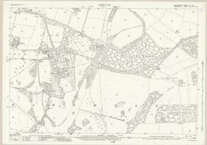 Staffordshire LXI.2 (includes: Boningale; Patshull) - 25 Inch Map