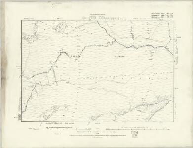 Brecknockshire III.NW - OS Six-Inch Map