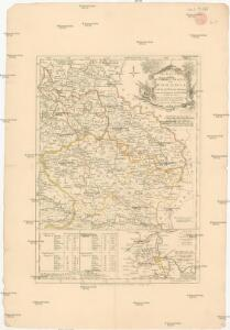 The routs of the Prussian armies into Bohemia with the post roads and distances