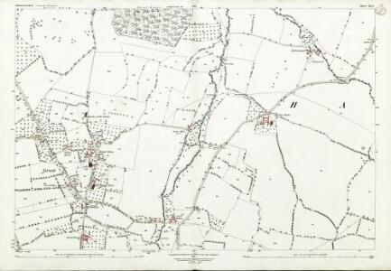 Gloucestershire XX.3 (includes: Stanway; Toddington; Winchcombe) - 25 Inch Map