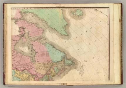North America, N.E.. Sheet.