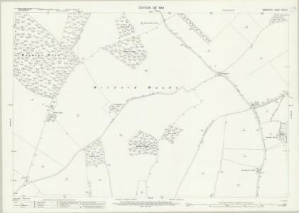Berkshire XXVI.15 (includes: Boxford; Chaddleworth; Leckhampstead; Welford) - 25 Inch Map