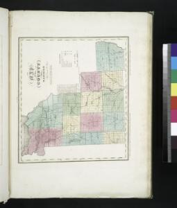 Map of the county of Madison / by David H. Burr; engd. by Rawdon, Clark & Co., Albany, & Rawdon, Wright & Co., N.Y.; An atlas of the state of New York: containing a map of the state and of the several counties. / Projected and drawn under the superintendence and direction of Simeon de Witt ... And also the physical geography of the State ...