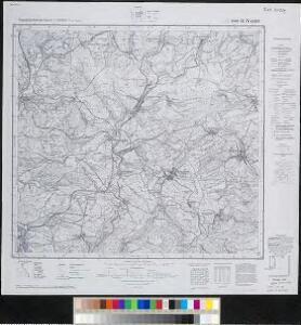 Meßtischblatt 6509 : St. Wendel, 1942