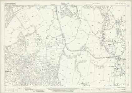 Sussex XII.6 (includes: Loxwood; Plaistow) - 25 Inch Map