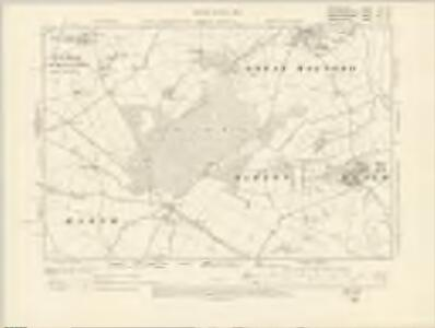 Oxfordshire VII.SE - OS Six-Inch Map