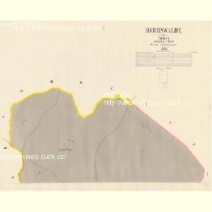 Herrnwalde - c5631-2-001 - Kaiserpflichtexemplar der Landkarten des stabilen Katasters