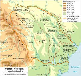Moldau, historisch