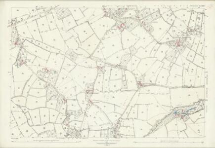 Somerset LIII.9 (includes: West Bradley; West Pennard) - 25 Inch Map
