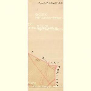 Frischau - m0269-2-014 - Kaiserpflichtexemplar der Landkarten des stabilen Katasters