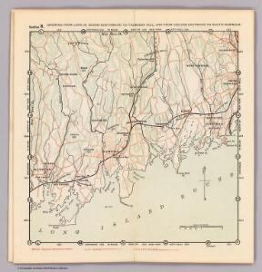 6. Long Id. Sound-Talmadge Hill-Cos Cob-S. Norwalk.