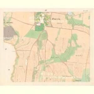 Zborow - c9182-1-003 - Kaiserpflichtexemplar der Landkarten des stabilen Katasters