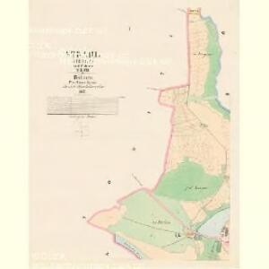 Strahl (Střela) - c7448-1-001 - Kaiserpflichtexemplar der Landkarten des stabilen Katasters