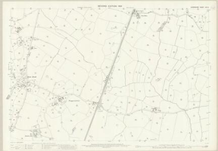 Shropshire XIV.8 (includes: Prees; Wem Rural) - 25 Inch Map
