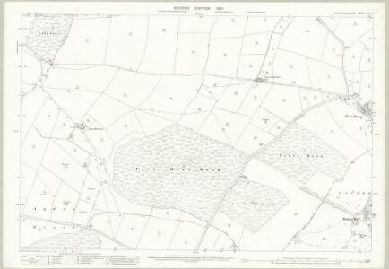 Huntingdonshire XXI.9 (includes: Great Staughton; Kimbolton) - 25 Inch Map