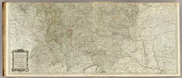 (Map of the Empire of Germany. Southern section)