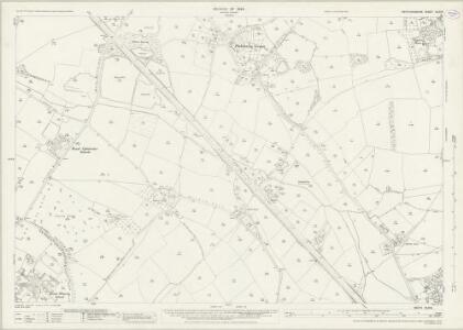 Hertfordshire XLIV.3 (includes: Aldenham; Bushey) - 25 Inch Map