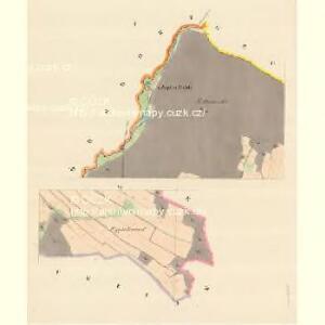 Kaltenlutsch - m2928-1-001 - Kaiserpflichtexemplar der Landkarten des stabilen Katasters