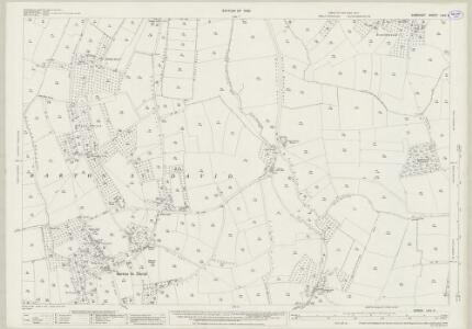 Somerset LXIV.5 (includes: Baltonsborough; Barton St David; Lydford) - 25 Inch Map