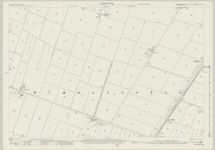 Cambridgeshire XVI.14 (includes: Wimblington) - 25 Inch Map