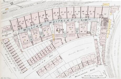 Insurance Plan of London Western District Vol. A: sheet 22-2