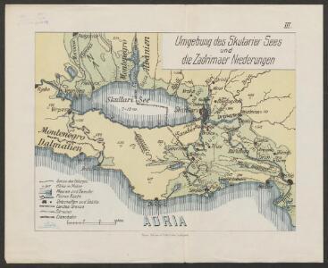 Umgebung des Skutarier Sees und die Zadrimaer Niederungen