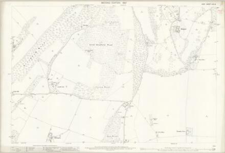 Kent XLIV.8 (includes: Eastling; Ospringe; Throwley) - 25 Inch Map