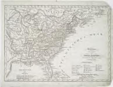 Vereinigte Staaten in Nord America: nach den besten Hülfsmittel verfast / Wien bey T. Mollo.; Lorenz Rieder sc.