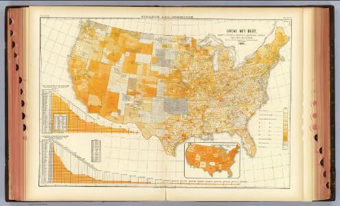 75. Debt per capita, counties.