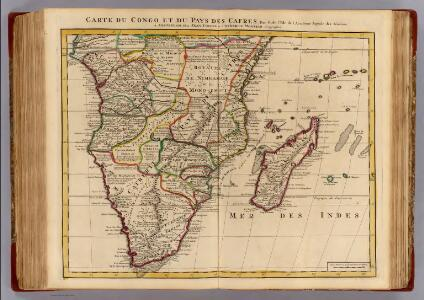 Congo, Pays des Cafres.