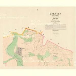 Zelwitz (Želvice) - c9408-1-002 - Kaiserpflichtexemplar der Landkarten des stabilen Katasters