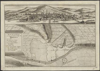 Plan de la ville et des nouveaux ouvrages de Trèves