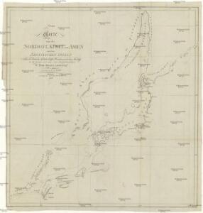 Neue Charte von der Nordost-Küste von Asien und den Japanischen Inseln