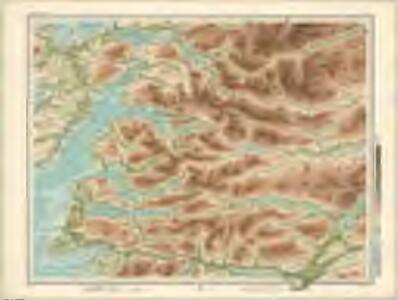 Glenelg, etc. - Bartholomew's 'Survey Atlas of Scotland'