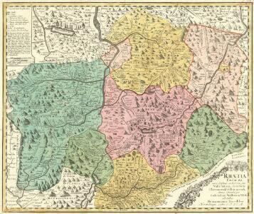 Rhaetia Foederata cum Confinüs et Subditis suis Valle Telina, Comitatu Clavennensi et Bormiensi, denuo correcta