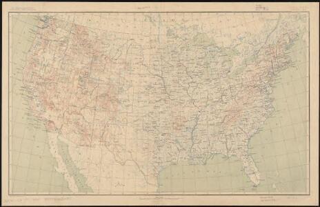 United States contour map