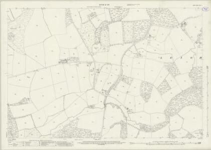 Surrey XXXIV.9 (includes: Leigh; Newdigate) - 25 Inch Map