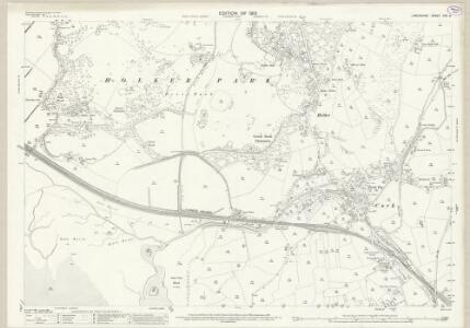 Lancashire XVII.6 (includes: Lower Allithwaite; Lower Holker) - 25 Inch Map